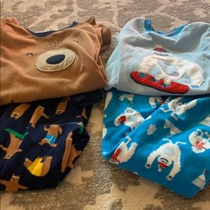 Two pairs Carter's pajamas